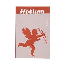 Hobium Aşk Meleği Şekilli Stencil Şablon - 4016