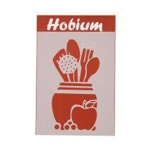 Hobium Mutfak Araçları Şekilli Stencil Şablon - 5227