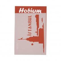 Hobium İstanbul Kız Kulesi Şekilli Stencil Şablon - 5070