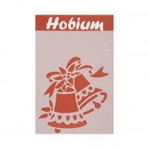Hobium Çan Şekilli Stencil Şablon - 5175