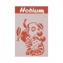 Hobium Meyve Şekilli Stencil Şablon - 5210