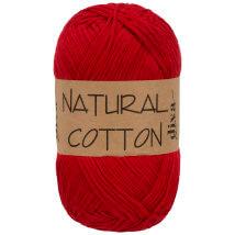 Diva Natural Cotton Kırmızı El Örgü İpi