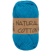 Diva Natural Cotton Mavi El Örgü İpi