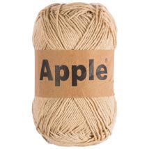 Apple Petrol Mavi Doğal El Örgü İpi