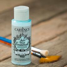 Cadence Enamel 59Ml(Cc) Toz Mavi Cam Ve Porselen Boyası - 353