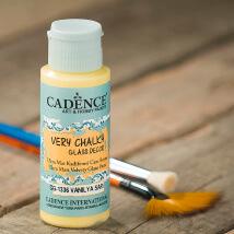 Cadence Very Chalky 59Ml(Cc) Vanilya Sarı Cam Boyası - Cg1336