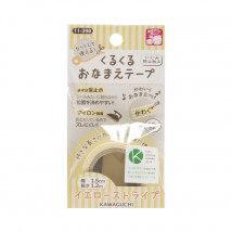 Kiyohara Kawaguchi 22 Gr. Sarı Ütüyle Yapışan Kumaş Şerit  - 11-398