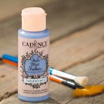 Cadence Style Matt 59Ml(Cc) Lavanta Mavisi Kumaş Boyası - 618