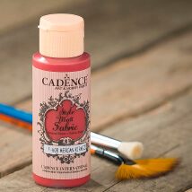 Cadence Style Matt 59Ml(Cc) Mercan Kırmızı Kumaş Boyası - 608