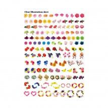 Kiyohara Paper Lamine 30x20 cm Desen Kağıdı  - RIS-05