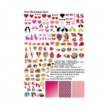 Kiyohara Paper Lamine 30x20 cm Desen Kağıdı  - RIS-10