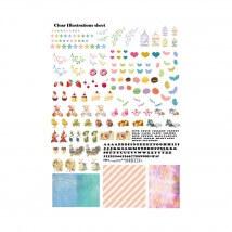 Kiyohara Paper Lamine 30x20 cm Desen Kağıdı  - RIS-02