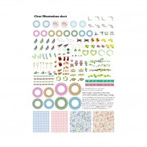 Kiyohara Paper Lamine 30x20 cm Desen Kağıdı  - RIS-03