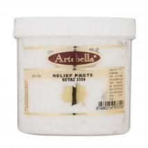 Artebella 400 gr Beyaz Rölyef Pasta - 3350