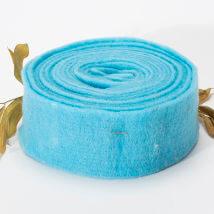Lehner Wolle 7,5cmx1m Mavi Yün Kumaş Keçe - T07-TU11