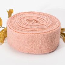 Lehner Wolle 7,5cmx1m Ten Rengi Yün Kumaş Keçe - T07-RS31