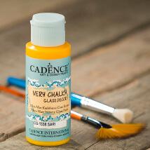 Cadence Very Chalky 59Ml(Cc) Sarı Cam Boyası - Cg1338