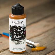 Cadence Chalk Paint 120Ml(Cc) Terracotta Kara Tahta Boyası - 2540
