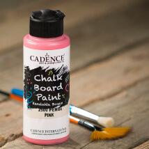Cadence Chalk Paint 120Ml(Cc) Pembe Kara Tahta Boyası - 2500