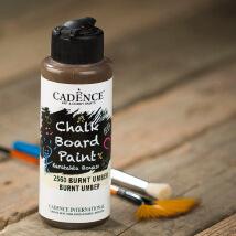 Cadence Chalk Paint 120Ml(Cc) Burnt Umber Kara Tahta Boyası - 2560