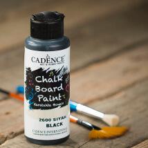 Cadence Chalk Paint 120Ml(Cc) Siyah Kara Tahta Boyası - 2600