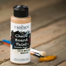 Cadence Chalk Paint 120Ml(Cc) Mocha Kara Tahta Boyası - 2510