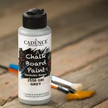 Cadence Chalk Paint 120Ml(Cc) Gri Kara Tahta Boyası - 2550