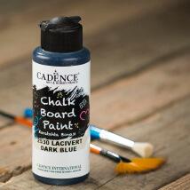 Cadence Chalk Paint 120Ml(Cc) Lacivert Kara Tahta Boyası - 2530