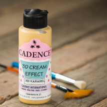 Cadence 120Ml(Cc) Karamel 3D Krema Efekt Boyası - 360