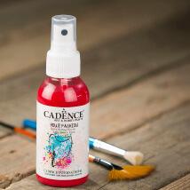 Cadence Your Fashion 100Ml(Cc) Crimson Kırmızı Sprey Kumaş Boyası - 1106
