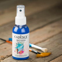 Cadence Your Fashion 100Ml(Cc) Navy Mavi Sprey Kumaş Boyası - 1110