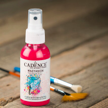 Cadence Your Fashion 100Ml(Cc) Fuşya Sprey Kumaş Boyası - 1104