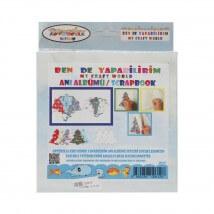 Artebella Artebella Ben de Yapabilirim Scrapbook Anı Albümü Seti - 012