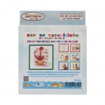 Artebella Ben de Yapabilirim Kolay Transferli Karton Ürün Setleri - Tka:004