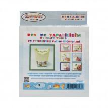 Artebella Ben de Yapabilirim Kolay Transferli Karton Ürün Setleri - Tka:003