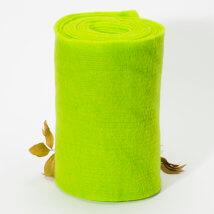 Lehner Wolle 30cmx1m Yeşil Yün Kumaş Keçe - T30-GU33
