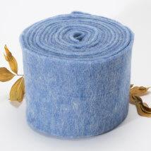 Lehner Wolle 15cmx1m Mavi Yün Kumaş Keçe - T15-BL06