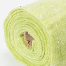 Lehner Wolle 65cmx1m Yeşil Yün Kumaş Keçe - CFZ-GU10