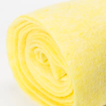 Lehner Wolle 65cmx1m Sarı Yün Kumaş Keçe - FZ--GE13