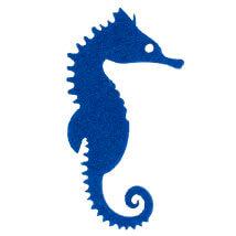 La Mia 10'lu Saks Mavi Denizatı Keçe Figür - M48