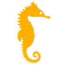 La Mia 10'lu Hardal Sarı Denizatı Keçe Figür - M18