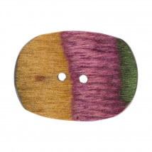KnitPro Symfonie 23 mm Ahşap Oval Düğme - 21112