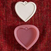 Hobium Kalp Plaka Şeklinde Mum Sabun Kokulu Taş Kalıbı - N&B01065