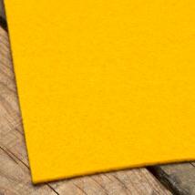 La Mia 50X50 cm 3 mm Koyu Sarı Sentetik Keçe - M16