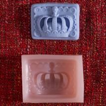 Hobium Taç Şeklinde Mum Sabun Kokulu Taş Kalıbı - N&B015