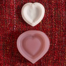Hobium Kalp Çerçeve Şeklinde Mum Sabun Kokulu Taş Kalıbı - N&B00852