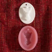 Hobium Elbise Şeklinde Mum Sabun Kokulu Taş Kalıbı - N&B01008