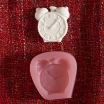 Hobium Çalar Saat Şeklinde Mum Sabun Kokulu Taş Kalıbı - N&B01003