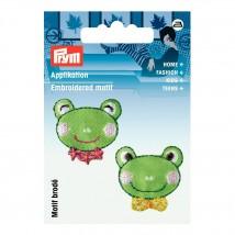 PRYM Kurbağa Kafaları Desenli Aplike - 925498