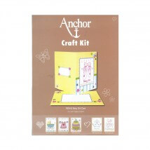 Anchor Craft Kit Baby Girl Kız Bebek Kart Kiti - RDK 42